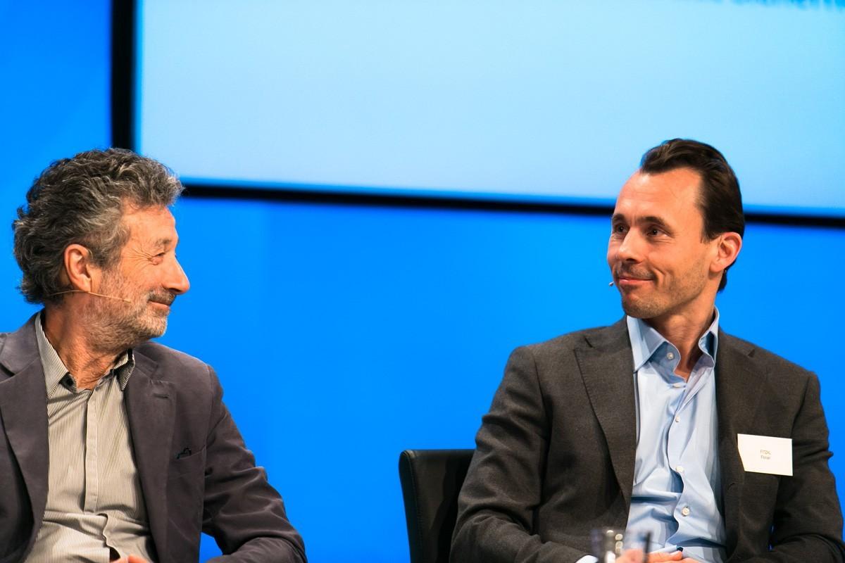 Fächerübergreifendes Einvernehmen: Michael Fridrik und Florian Fitzal (rechts).
