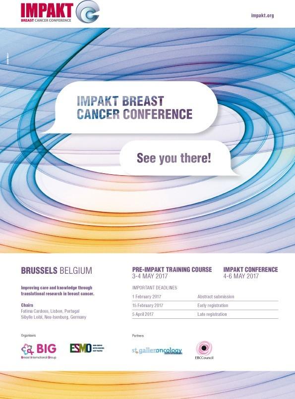 IMPAKT Breast Cancer Conference 2017