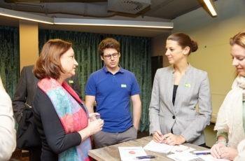 .. bei denen sich auch Referentin Ursula Selim (links) einbrachte.