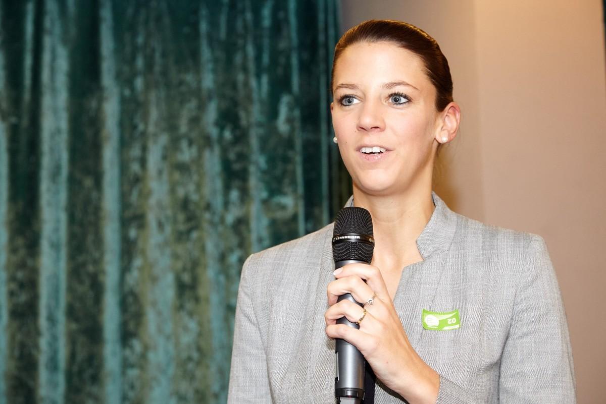 Das Debüt als Gruppensprecherin meisterte Barbara Kiesewetter-Wiederkehr bravourös.