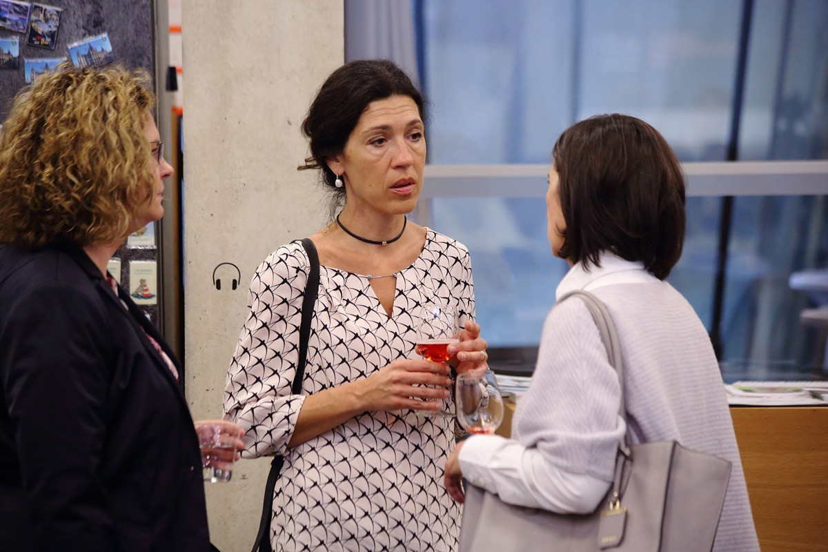 Prominenter Besuch: ABCSG-Vizepräsidentin Marija Balic.
