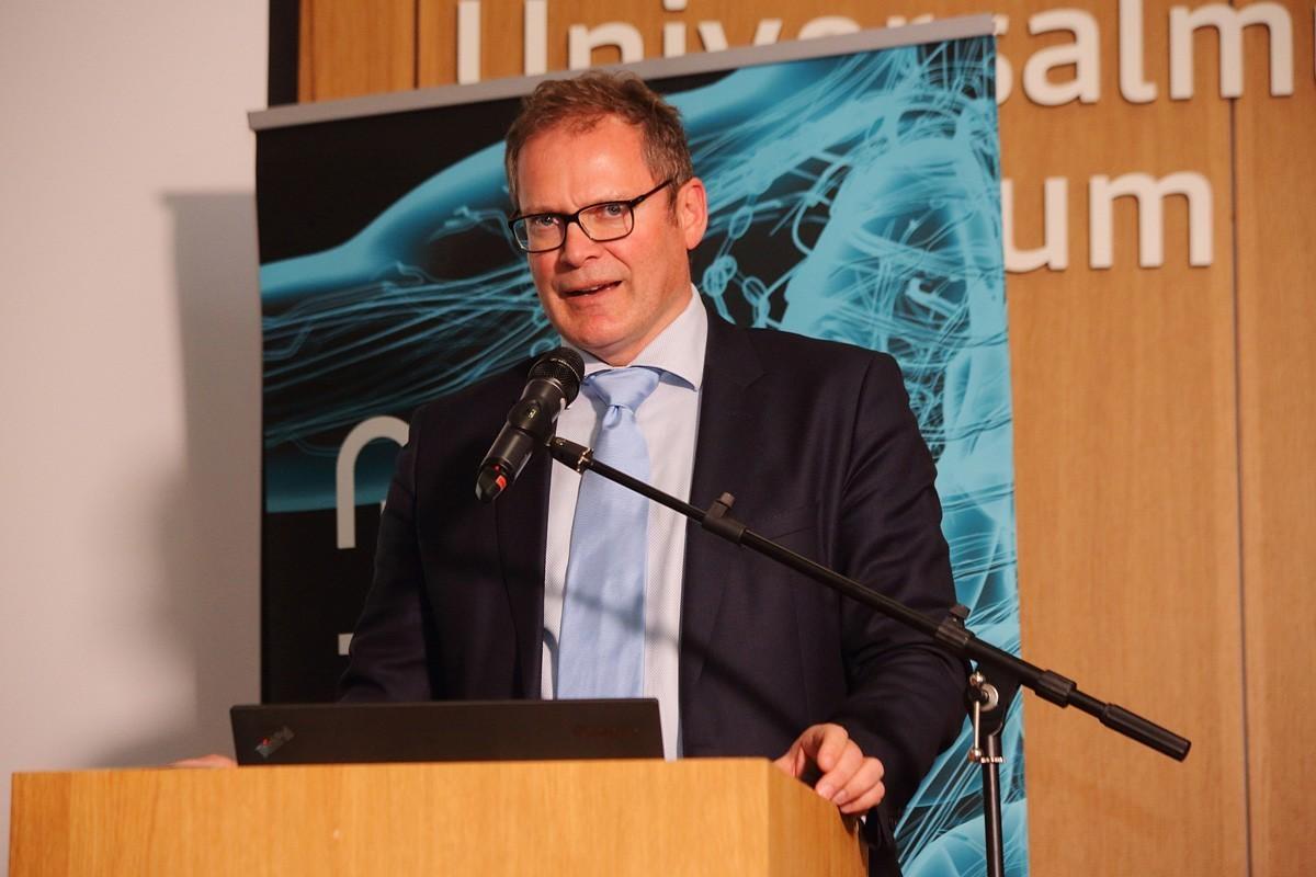 Wolfgang Eisterer, Leiter der Abteilung für Innere Medizin in Klagenfurt, referierte über onkologische Konzepte bei der Therapie des Pankreaskarzinoms.