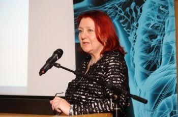 Präsentierte einen spannenden und ungewöhnlichen Fallbericht: Renate Schaberl-Moser.