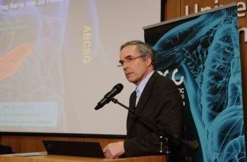 Teilten sich die Präsentation: Hans Rabl übernahm den chirurgischen Part, ..