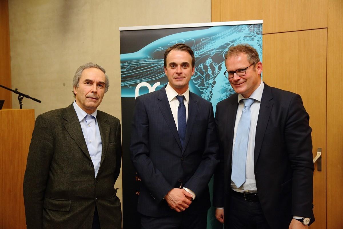Und die ABCSG bedankt sich bei den Mitwirkenden: Hans Rabl, Armin Gerger und Wolfgang Eisterer (v.l.n.r.) ..