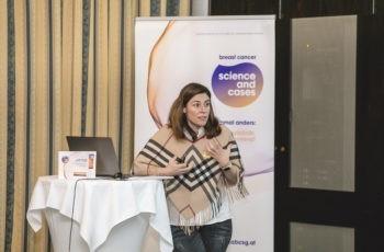 Als Gruppensprecherin schon ein Profi: Claudia Iannetti-Hackl präsentierte die Ergebnisse des gelben Teams.