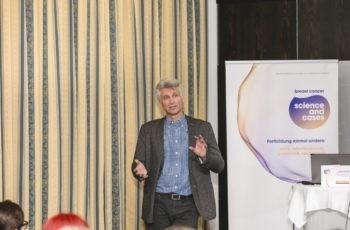 Christopher Hager aus Dornbirn präsentierte einen mBC-first-line-Fall.