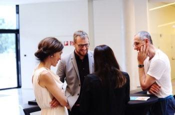 Marija Balic (links) unterstützte die Gruppe von Daniel Egle (Mitte) zusätzlich.