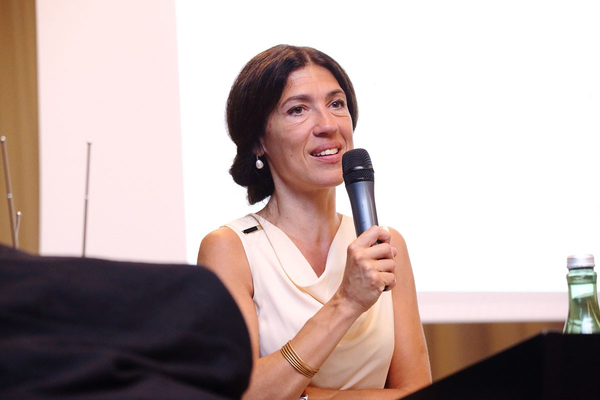 Wichtiger Teil des IMPROving-Teams: ABCSG-Vizepräsidentin Marija Balic.