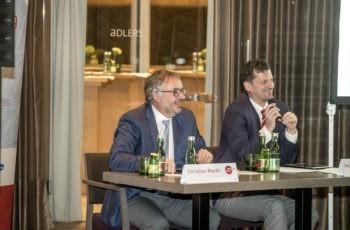 Auch hier war das Voting durchaus kurzweilig: Christian Marth und Holger Rumpold (v.l.n.r.).