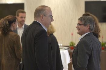 Tolles Vorsitz-Team: Michael Gnant (links) und Viktor Wette.