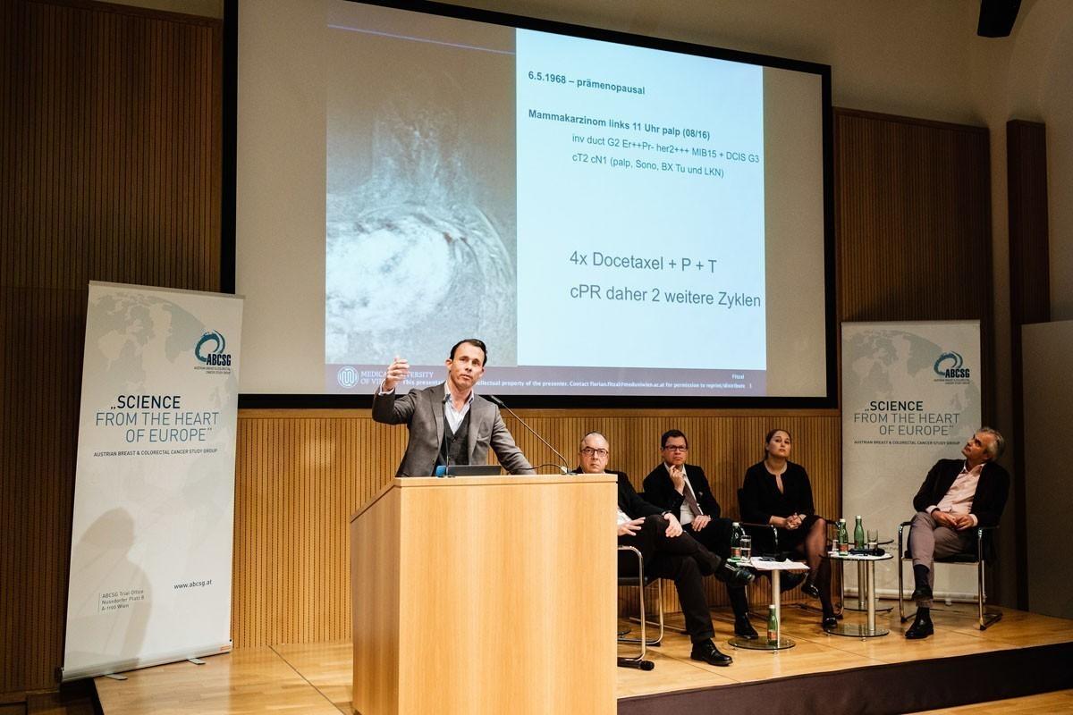 Hochspannender Case Report im neoadjuvanten Setting: Florian Fitzal.