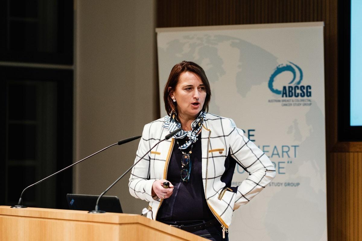 Vesna Bjelic-Radisic brachte aus Graz einen adjuvanten Fall mit.