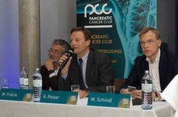 Auch die Vorsitzenden brachten sich immer wieder ein: Michael Fridrik, Andreas Petzer und Martin Schindl (v.l.n.r.).
