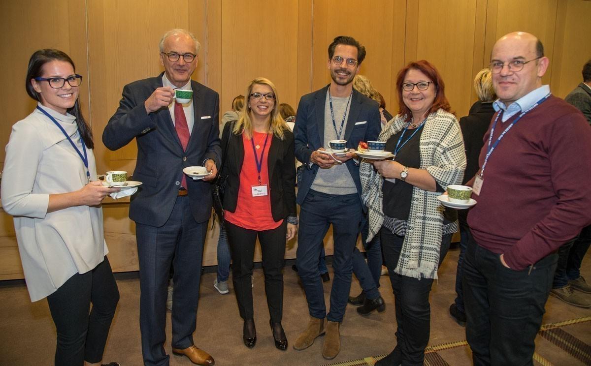 Die Grazer ABCSG-ExpertInnen: Julia Reisinger, Herbert Stöger, Jasmin Terzic, Christoph Suppan, Renate Schaberl-Moser und Atab El-Shabrawi (v.l.n.r.).