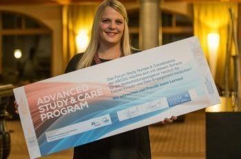Nadine Fuchs, Breast Care Nurse aus St. Veit/Glan, kann sich nun mehrere Fortbildungen finanzieren.