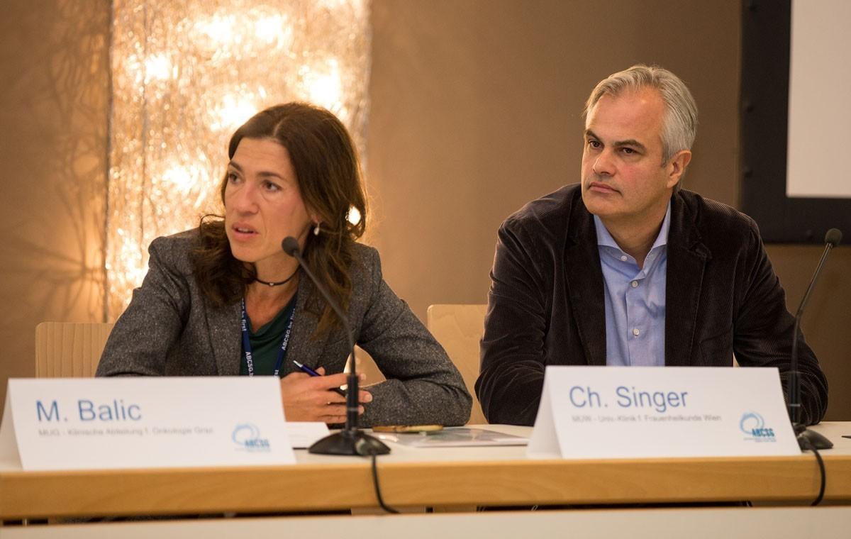 Marija Balic und Christian Singer haben den ersten Vorsitz am Samstag.