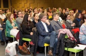 Rund 70 TeilnehmerInnen füllen den Vortragssaal im UK St. Pölten.