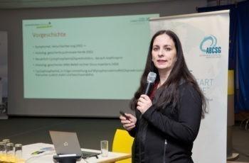 Maria Gold stellte den zweiten Case Report aus St. Pölten vor.