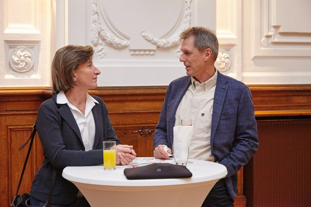 Gern gesehene Stammgäste bei ABCSG-Veranstaltungen: Monika Chladek und Alexander Fortelny.