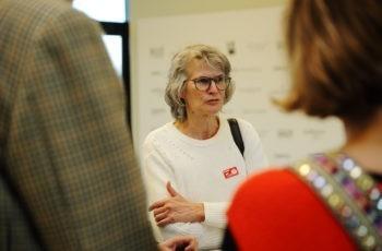 Onkologin Anne-Katrin Kasparek steuert wertvollen Input bei.