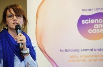 Suzana Babic sprang für Christoph Tinchon ein und präsentierte souverän.