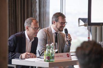 Waren guter Dinge: Ewald Wöll und Daniel Egle.