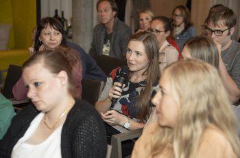 Und schließlich kamen auch Fragen und Anmerkungen aus dem Publikum.