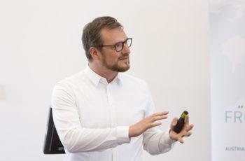 Krönender Abschluss mit sehr vielen Informationen zur Studienlandschaft: Daniel Egle.