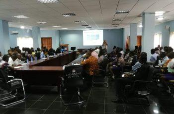 Workshop zu klinischer Forschung in Ghana