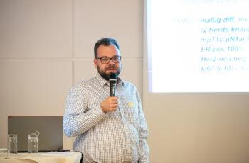 Clemens Dormann präsentierte die Ergebnisse seiner Gruppe.