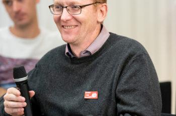 Ansgar Weltermann wurde erst vor Ort als Sprecher verpflichtet.