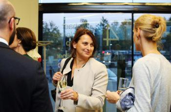 Vesna Bjelic-Radisic kam extra aus Wuppertal und freute sich, dass sie von der ABCSG nicht vergessen wurde. Wie könnten wir!