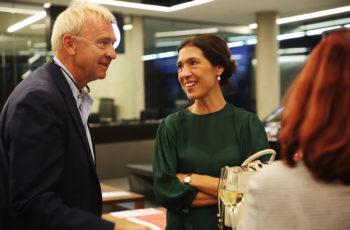 Auch Experten lernen nie aus: Dietrich Luze und Marija Balic.