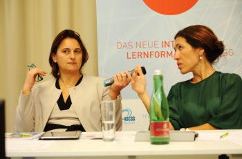 Tolles Gespann und umsichtige Diskussionsführungen: Vesna Bjelic-Radisic und Marija Balic.