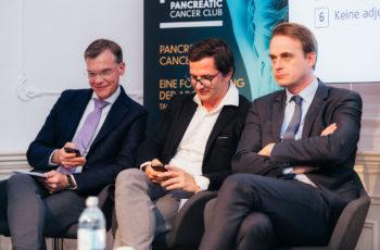 .. und das Panel: Martin Schindl, Stefan Stättner und Armin Gerger (v.l.n.r.).