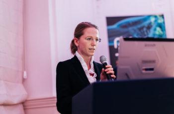 Elisabeth Gruber präsentierte den zweiten Fall an diesem Abend.