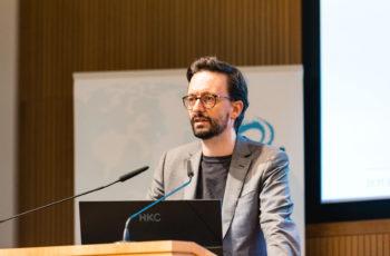 David Fuchs aus Linz präsentierte einen Case Report mit interessantem Verlauf.