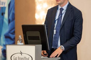 Der wissenschaftliche Nachwuchs war in diesem Jahr besonders stark vertreten: Maximilian Marhold sprach über Organoidkulturen.