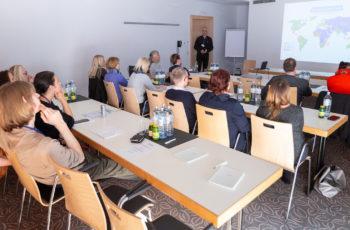 Auch die DSGVO - Datenschutz im Study Management interessierte viele TeilnehmerInnen.