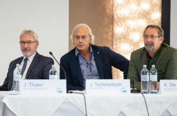 Die Session der Colorectal Branch wurde vom Leiter der Branch, Josef Thaler, Jörg Tschmelitsch und Alexander De Vries eröffnet (v.l.n.r.).