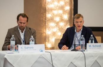 Den Abschluss eines intensiven Fortbildungswochenendes machte die Task Force Pankreas mit Klaus Sahora und Martin Schindl als Vorsitzende (v.l.n.r.).