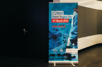 Auch der Vienna Breast Surgery Day ist prominent angekündigt.