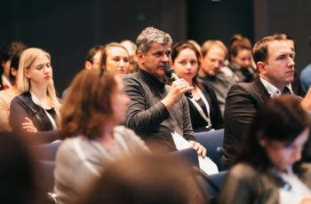 Auch das Publikum beteiligte sich an der Diskussion.