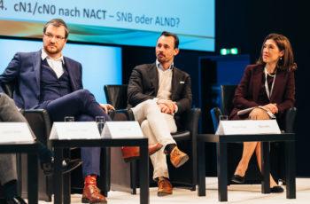 Die Fragen der RapporteurInnen wurden sehr intensiv diskutiert: Daniel Egle, Florian Fitzal und Marija Balic.