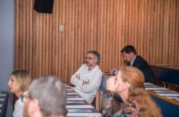 Vorsitzender Christian Marth, ABCSG-Vizepräsident, lauschte ebenfalls sehr aufmerksam den Vorträgen seiner MitarbeiterInnen.