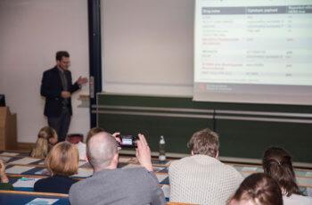 Großes Interesse gab es am abschließenden Vortrag von Gabriel Rinnerthaler, der extra aus Salzburg angereist war.