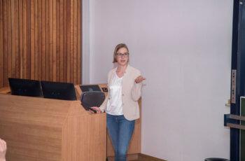 Hannah Welponer brachte ebenfalls einen case report aus dem Brustzentrum mit.