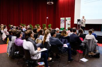 44 Personen kamen an diesem Abend in der Aula des Med Campus zusammen.