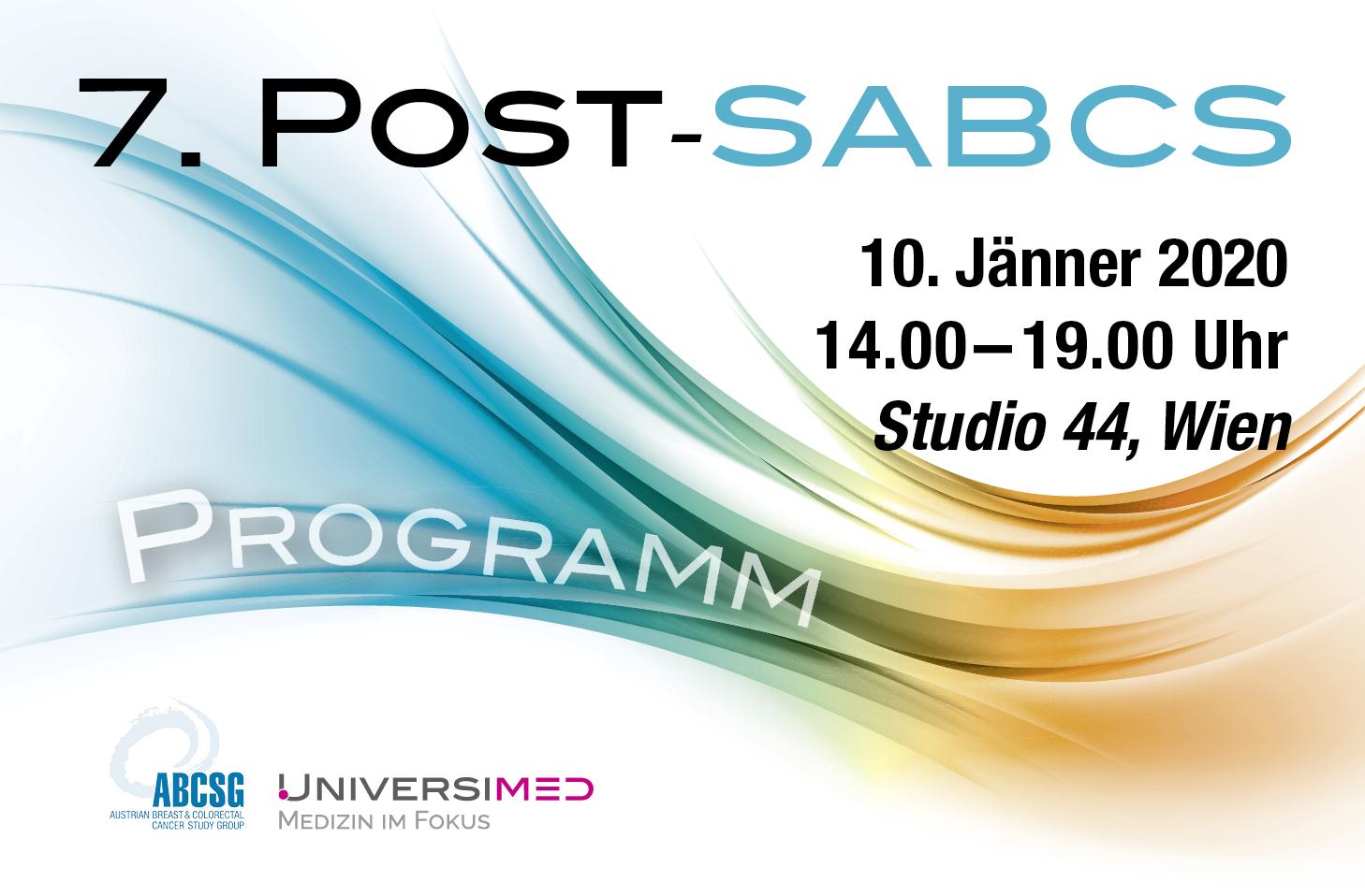 7. Post-SABCS am 10. Januar 2020 in Wien